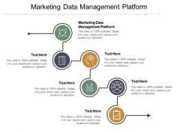 Marketing Data Management Platform Ppt Powerpoint Presentation Gallery Structure Cpb