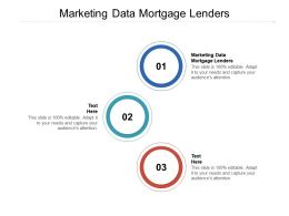 Marketing Data Mortgage Lenders Ppt Powerpoint Presentation Ideas Tips Cpb