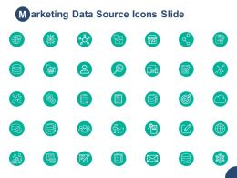 Marketing Data Source Icons Slide Planning H20 Ppt Powerpoint Presentation Pictures Demonstration