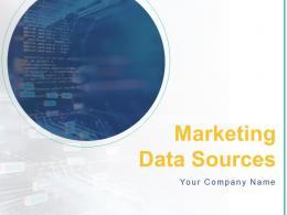 Marketing Data Sources Powerpoint Presentation Slides
