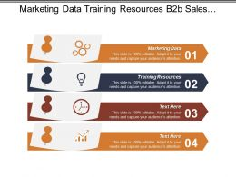Marketing Data Training Resources B2b Sales Marketing Social Marketing Cpb