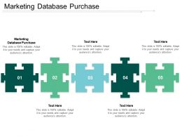 Marketing Database Purchase Ppt Powerpoint Presentation Show Model Cpb