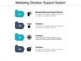 Marketing Decision Support System Ppt Powerpoint Presentation Styles Gallery Cpb