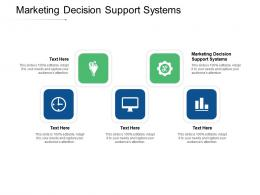 Marketing Decision Support Systems Ppt Powerpoint Presentation Gallery Pictures Cpb