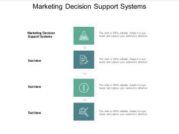 Marketing Decision Support Systems Ppt Powerpoint Presentation Ideas Graphics Cpb