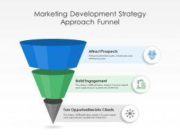 Marketing Development Strategy Approach Funnel