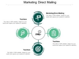 Marketing Direct Mailing Ppt Powerpoint Presentation Styles Layouts Cpb