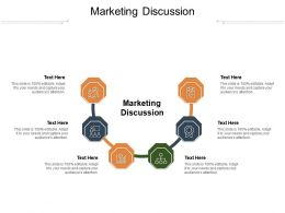 Marketing Discussion Ppt Powerpoint Presentation Infographic Template Templates Cpb