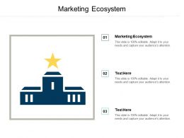 Marketing Ecosystem Ppt Powerpoint Presentation Infographic Template Design Inspiration Cpb
