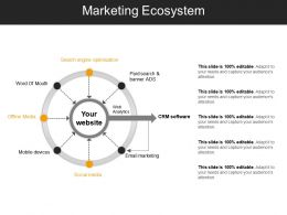 Marketing Ecosystem Ppt Slide Themes