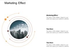 Marketing Effect Ppt Powerpoint Presentation Gallery Infographics Cpb