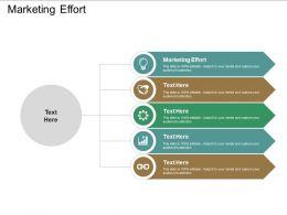 Marketing Effort Ppt Powerpoint Presentation Diagrams Cpb