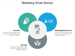Marketing Email Service Ppt Powerpoint Presentation Styles Introduction Cpb