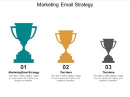 Marketing Email Strategy Ppt Powerpoint Presentation Layouts Slides Cpb