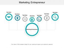 Marketing Entrepreneur Ppt Powerpoint Presentation Infographic Template Cpb