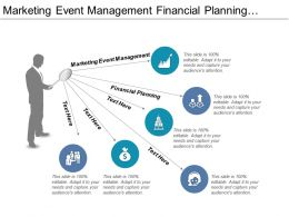 Marketing Event Management Financial Planning Cycle Continuous Improvement Cpb
