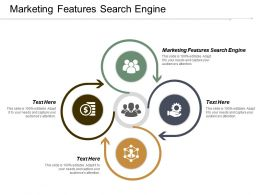 Marketing Features Search Engine Ppt Powerpoint Presentation Infographic Template Example Topics Cpb
