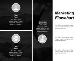 Marketing Flowchart Ppt Powerpoint Presentation Portfolio Slides Cpb