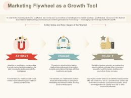 Marketing Flywheel As A Growth Tool Ppt Powerpoint Presentation Slides Guidelines