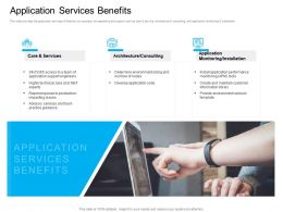 Marketing For Cloud Computing Application Services Benefits Information Library Ppts Icons