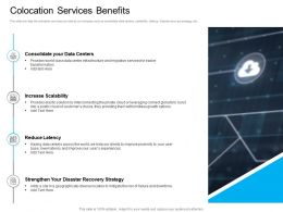 Marketing For Cloud Computing Colocation Services Benefits Increase Scalability Ppt Shows