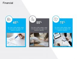 Marketing For Cloud Computing Financial Percentages Ppt Powerpoint Inspiration