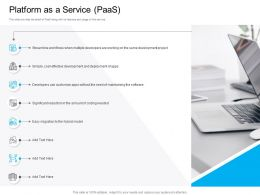 Marketing For Cloud Computing Platform As A Service PAAS Coding Needed Ppt Professional