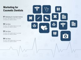 Marketing For Cosmetic Dentists Ppt Powerpoint Presentation Model Graphics Example