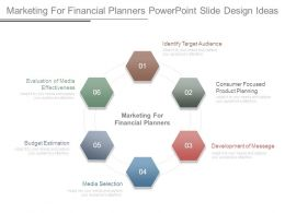 Marketing For Financial Planners Powerpoint Slide Design Ideas