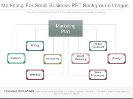 Marketing For Small Business Ppt Background Images