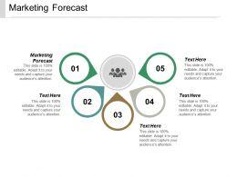 Marketing Forecast Ppt Powerpoint Presentation Summary Topics Cpb