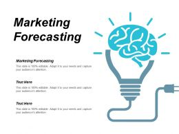 Marketing Forecasting Ppt Powerpoint Presentation Pictures Design Templates Cpb
