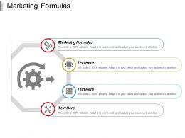 Marketing Formulas Ppt Powerpoint Presentation Portfolio Brochure Cpb