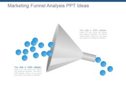 Marketing Funnel Analysis Ppt Ideas