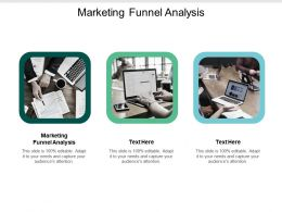 Marketing Funnel Analysis Ppt Powerpoint Presentation Show Rules Cpb