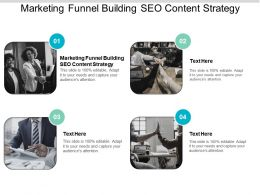 Marketing Funnel Building SEO Content Strategy Ppt Powerpoint Presentation Slides Master Slide Cpb