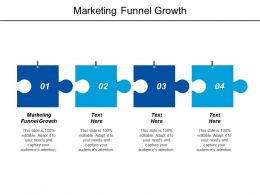 Marketing Funnel Growth Ppt Powerpoint Presentation Icon Slides Cpb