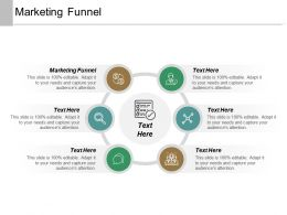 Marketing Funnel Ppt Powerpoint Presentation Inspiration Display Cpb