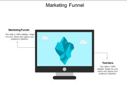 Marketing Funnel Ppt Powerpoint Presentation Outline Gridlines Cpb