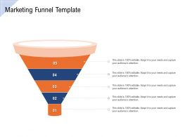 Marketing Funnel Template Ppt Powerpoint Template Professional