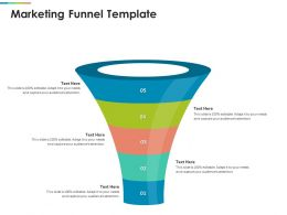 Marketing Funnel Template R416 Ppt Powerpoint Presentation Layouts Professional