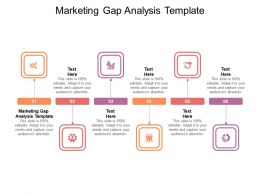 Marketing Gap Analysis Template Ppt Powerpoint Presentation Icon Professional Cpb