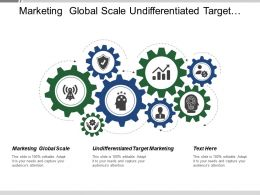 Marketing Global Scale Undifferentiated Target Marketing Distinct Market