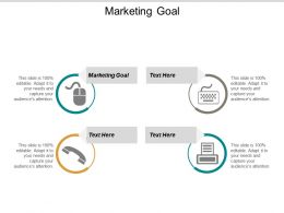Marketing Goal Ppt Powerpoint Presentation Layouts Styles Cpb