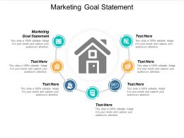 Marketing Goal Statement Ppt Powerpoint Presentation Portfolio Vector Cpb