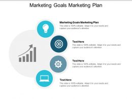 Marketing Goals Marketing Plan Ppt Powerpoint Presentation Styles Smartart Cpb