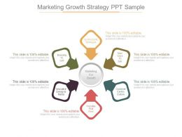 Marketing Growth Strategy Ppt Sample