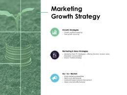 Marketing Growth Strategy Sales Strategies Social Ppt Powerpoint Presentation Slides Graphic Images