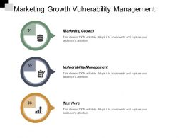 Marketing Growth Vulnerability Management Customer Loyalty Development Marketing Cpb