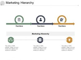 Marketing Hierarchy Ppt Powerpoint Presentation File Layouts Cpb